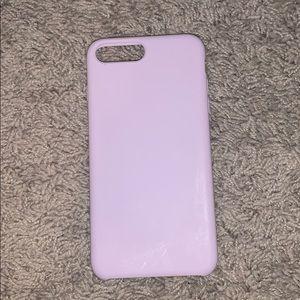 silicone pink iphone 7/8 plus case